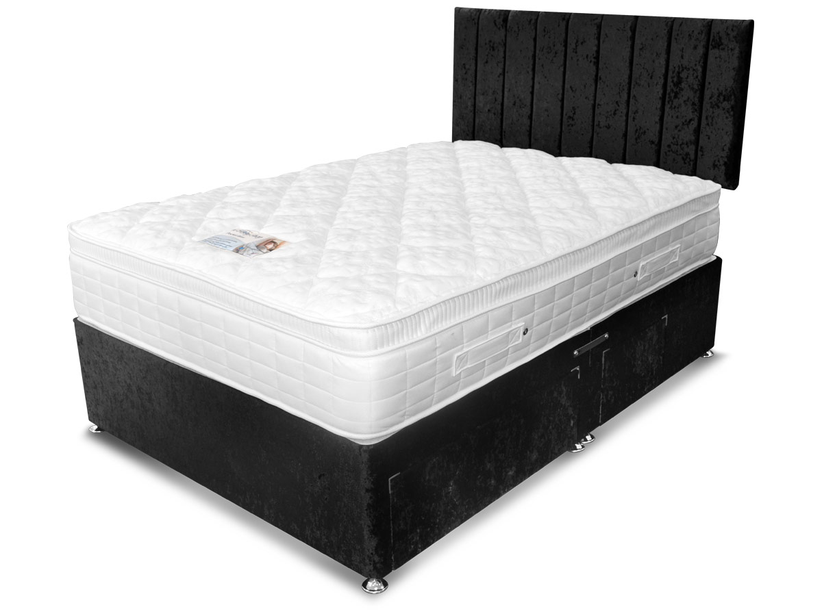 3ft single sleep shop pocket bliss supreme mattress from for Sofa bed 5ft